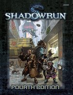 [Kaft van Shadowrun, Fourth Edition regelboek]
